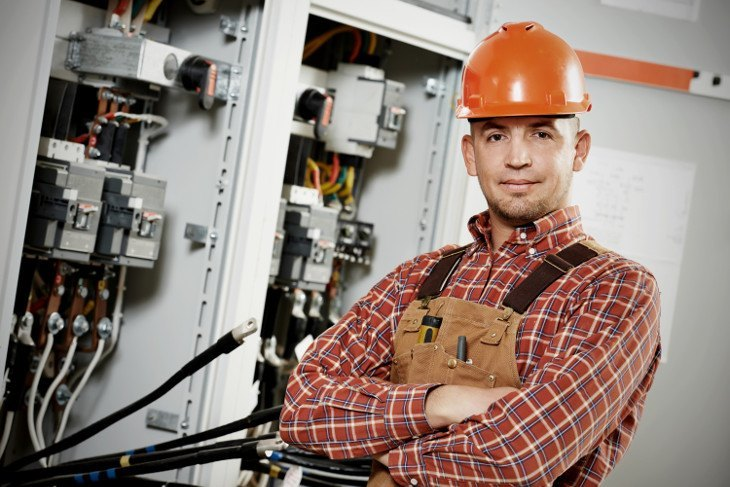Electrical-Worker-on-the-Job